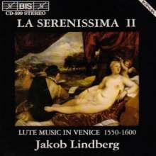 Jakob Lindberg - La Serenissima Vol.2, CD