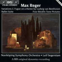 Max Reger (1873-1916): Böcklin-Suite op.128, CD