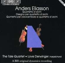 Anders Eliasson (1947-2013): Streichquartett, CD