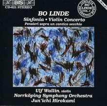 Bo Linde (1933-1970): Symphonie Nr.2 op.23, CD