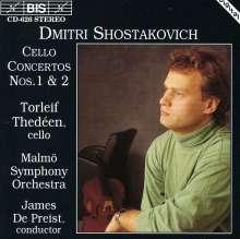 Dimitri Schostakowitsch (1906-1975): Cellokonzerte Nr.1 & 2, CD