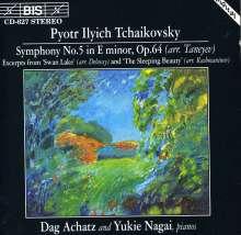 Peter Iljitsch Tschaikowsky (1840-1893): Symphonie Nr.5 (arr.f.2 Klaviere), CD
