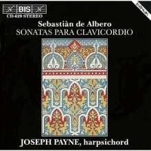 Sebastian de Albero (1722-1756): Sonatas para clavicordio, CD