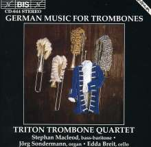 Musik für Posaunenquartett, CD