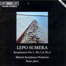 Lepo Sumera (1950-2000): Symphonien Nr.1-3, CD