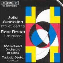 Elena Firsova (geb. 1950): Cassandra op.60, CD