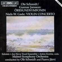 Niels Wilhelm Gade (1817-1890): Violinkonzert op.56, CD