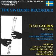Dan Laurin - The Swedish Recorder, CD