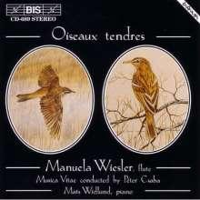 Manuela Wiesler - Oiseaux tendres, CD
