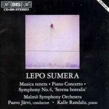 "Lepo Sumera (1950-2000): Symphonie Nr.4 ""Serena borealis"", CD"