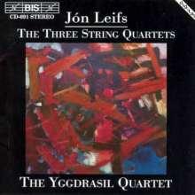 Jon Leifs (1899-1968): Streichquartette Nr.1-3 (opp.21,36,64), CD