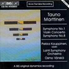 Tauno Marttinen (geb. 1912): Symphonien Nr.1 & 8, CD