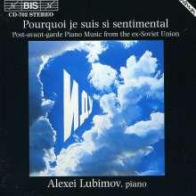 Alexei Lubimov spielt russische Klavierwerke, CD