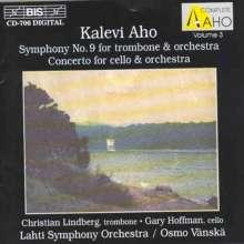Kalevi Aho (geb. 1949): Symphonie Nr.9, CD