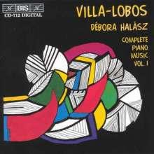 Heitor Villa-Lobos (1887-1959): Sämtliche Klavierwerke Vol.1, CD