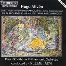 Hugo Alfven (1872-1960): Schwedische Rhapsodien Nr.1-3, CD