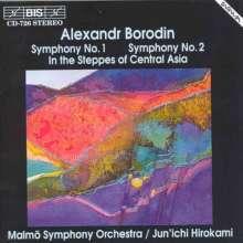Alexander Borodin (1833-1887): Symphonien Nr.1 & 2, CD