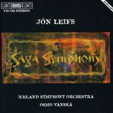 """Jon Leifs (1899-1968): Symphonie Nr.1 """"Saga Symphonie"""", CD"""