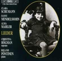 Christina Högman singt Lieder von Komponistinnen, CD