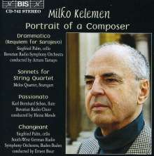 Milko Kelemen (geb. 1924): Drammatico (Requiem for Sarajevo), CD