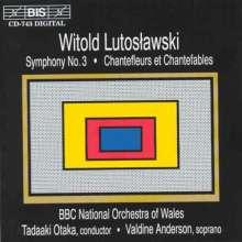 Witold Lutoslawski (1913-1994): Symphonie Nr.3, CD