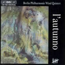 Hans Werner Henze (1926-2012): L'autunno (1977) f.Bläserquintett, CD