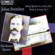 Johan Svendsen (1840-1911): Streichquartett op.1, CD