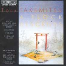 Toru Takemitsu (1930-1996): Orion and Pleiades f.Cello & Orchester, CD