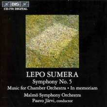 Lepo Sumera (1950-2000): Symphonie Nr.5, CD