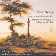Max Reger (1873-1916): Mozart-Variationen op.132, CD