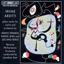 Irvine Arditti - Werke für Violine & Orchester, CD