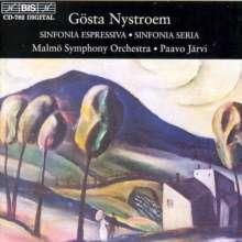 Gösta Nystroem (1890-1966): Symphonien Nr.2 & 5, CD