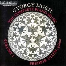 György Ligeti (1923-2006): Sämtliche Klavierwerke Vol.1, CD
