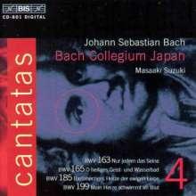 Johann Sebastian Bach (1685-1750): Kantaten Vol.4 (BIS-Edition), CD