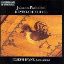 Johann Pachelbel (1653-1706): Cembalosuiten, CD