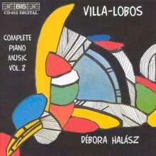 Heitor Villa-Lobos (1887-1959): Sämtliche Klavierwerke Vol.2, CD