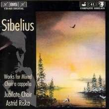 Jean Sibelius (1865-1957): Chorwerke a capella, CD