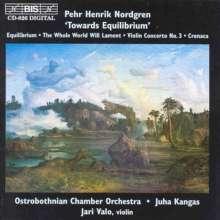 Pehr Henrik Nordgren (geb. 1944): Violinkonzert Nr.3, CD