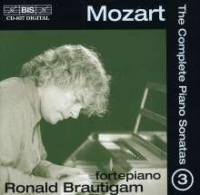 Wolfgang Amadeus Mozart (1756-1791): Klaviersonaten Vol.3, CD