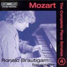 Wolfgang Amadeus Mozart (1756-1791): Klaviersonaten Vol.4, CD