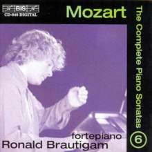 Wolfgang Amadeus Mozart (1756-1791): Klaviersonaten Vol.6, CD