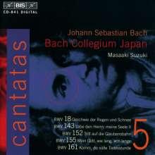Johann Sebastian Bach (1685-1750): Kantaten Vol.5 (BIS-Edition), CD
