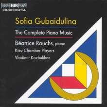 "Sofia Gubaidulina (geb. 1931): Klavierkonzert ""Introitus"", CD"