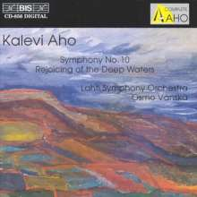 Kalevi Aho (geb. 1949): Symphonie Nr.10, CD