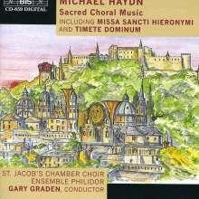 Michael Haydn (1737-1806): Missa Sancti Hieronymi, CD
