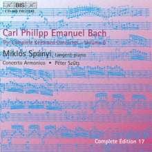 Carl Philipp Emanuel Bach (1714-1788): Sämtliche Cembalokonzerte Vol.9, CD