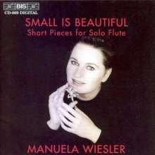 Manuela Wiesler - Small is beautiful, CD