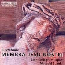 """Dieterich Buxtehude (1637-1707): Kantate """"Membra Jesu Nostri"""" BuxWV 75, CD"""