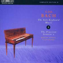 Carl Philipp Emanuel Bach (1714-1788): Cembalosonaten Wq.48 Nr.5 & 6, CD