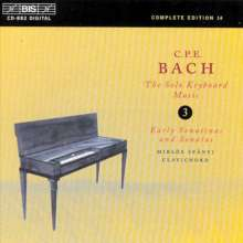 Carl Philipp Emanuel Bach (1714-1788): Sonatinen für Cembalo Wq.64 Nr.1-6, CD